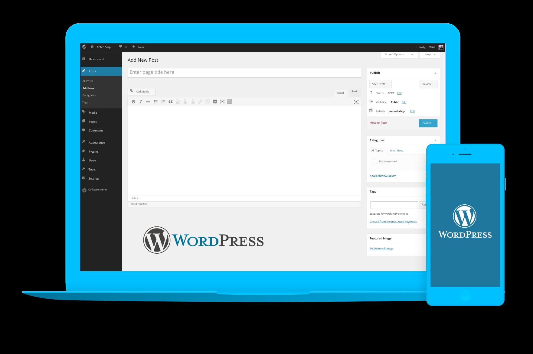 INKT Custom WordPress Websites